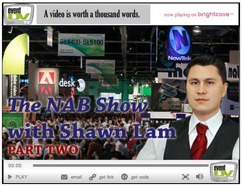 EventDV coverage of NAB 2010