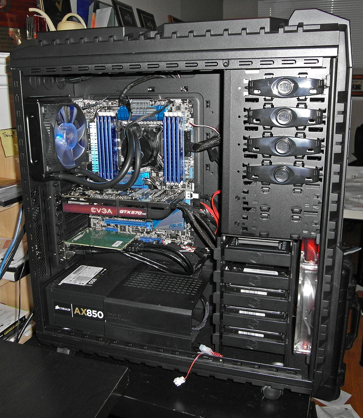 HEX-Core video editing computer
