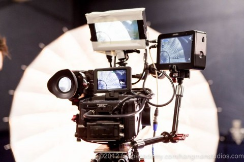 Sony FS700 with HD-SDI and HDMI outputs
